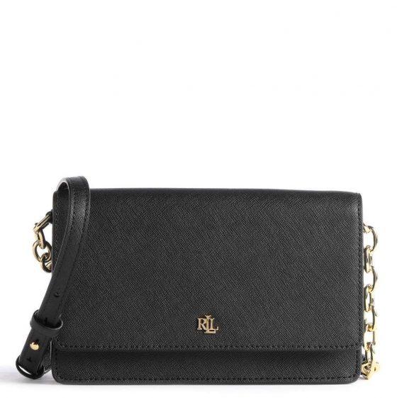 lauren ralph lauren crosshatch winston shoulder bag black 431 802429 004 31