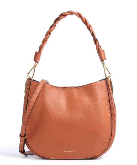 coccinelle arpege hobo bag amber e1igf150101 584 31