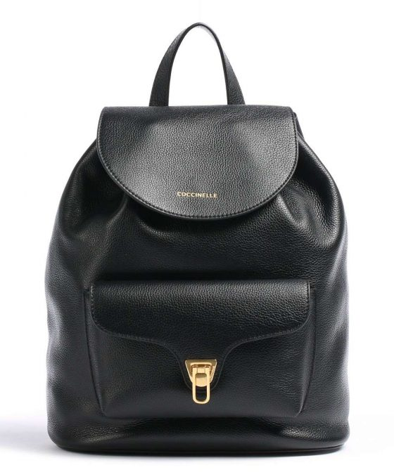 coccinelle beat soft backpack black e1if6140101 001 31