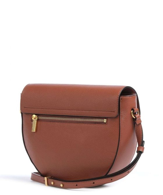 coccinelle beat soft crossbody bag red brown e1if6150101 r50 32
