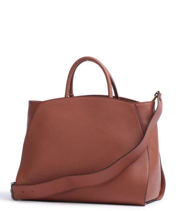 coccinelle concrete handbag red brown e1ila180201 r50 32