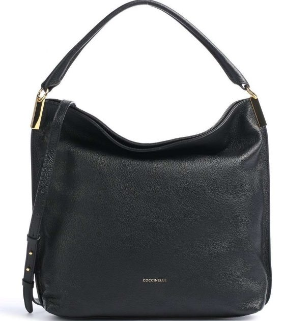 coccinelle estelle hobo bag black e1i3a130201 001 31 1