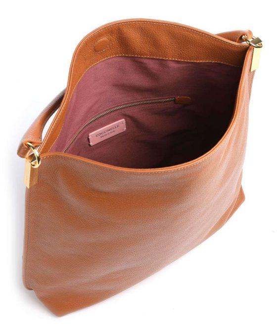 coccinelle estelle hobo bag caramel e1i3a130201 w03 35