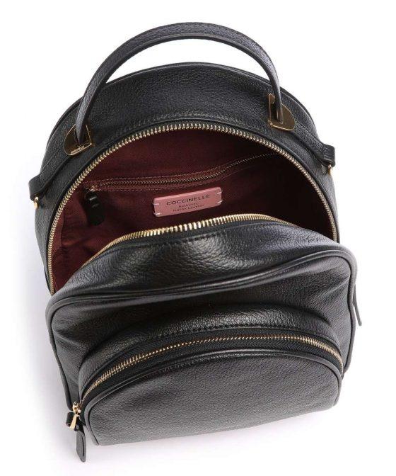coccinelle lea backpack black e1i60140101 001 35