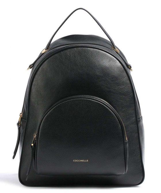 coccinelle lea backpack black e1i60140201 001 31
