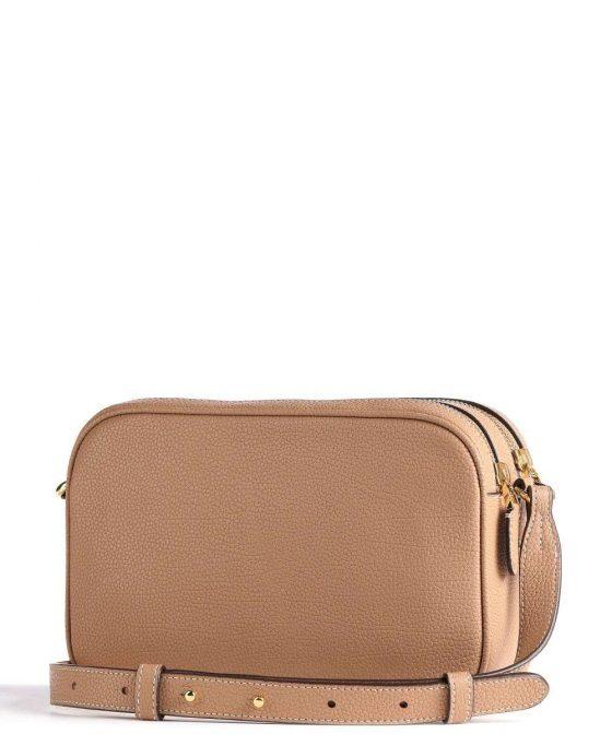 lauren ralph lauren carrie 24 crossbody bag light brown 431 837540 008 32