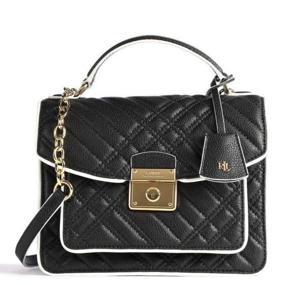 lauren ralph lauren heritage lock beckett 23 crossbody bag black 431 837601 002 31