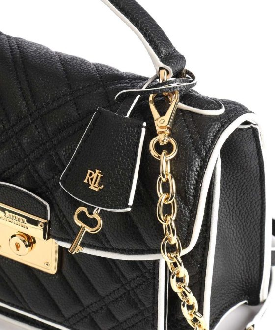 lauren ralph lauren heritage lock beckett 23 crossbody bag black 431 837601 002 35